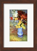 Framed Vase With Anemone