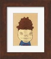 Framed N.Y. (Self-Portrait), 2002