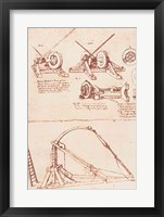 Framed Designs for a Catapult
