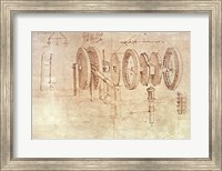 Framed Studies of Toothed Gears and for a Hygrometer