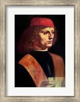 Framed Portrait of a Musician, c.1485