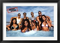 Framed Jersey Shore - Cast