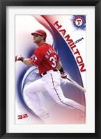 Framed Rangers - J Hamilton 11
