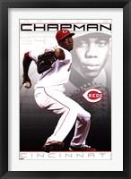 Framed Reds - A Chapman