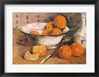 Framed Still life with Oranges, 1881
