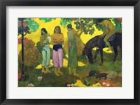 Framed Rupe Rupe (Fruit Gathering), 1899
