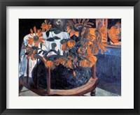 Framed Sunflowers, 1901
