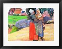 Framed Breton Peasants, 1894