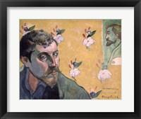 Framed Self Portrait, Les Miserables,1888