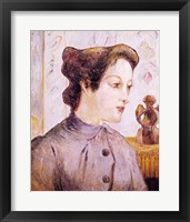 Framed Portrait of a Young Woman, 1886