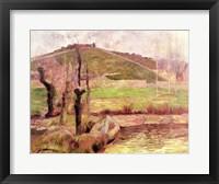 Framed Landscape near Pont-Aven, 1888