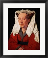 Framed Portrait of Margaret van Eyck, 1439