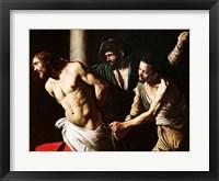 Framed Flagellation of Christ, c.1605-7