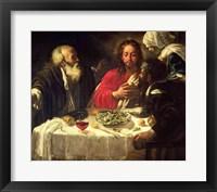 Framed Supper at Emmaus, c.1614-21