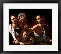 Framed Salome Receives the Head of Saint John the Baptist, 1607-10