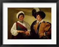 Framed Fortune Teller, c.1596-97