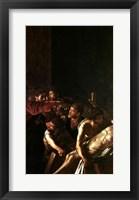 Framed Resurrection of Lazarus, Right Detail