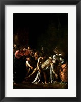 Framed Resurrection of Lazarus, Detail