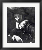 Framed Self-portrait