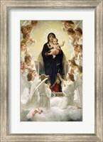 Framed Virgin with Angels, 1900