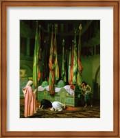 Framed Shrine of Imam Hussein