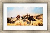 Framed Crossing the Desert