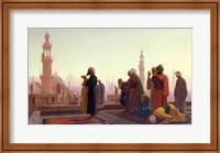 Framed Prayer, 1865