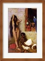 Framed Slave for Sale, 1873