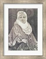Framed 'La Favorita'- Woman with a Veil