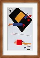 Framed Suprematist Composition, 1915