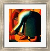 Framed Woman Cutting, c.1900