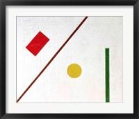Framed Suprematist Composition, 1915 (detail 2)