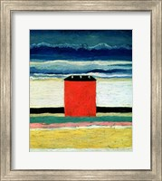 Framed Red House, 1932