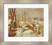 Framed Snow Scene
