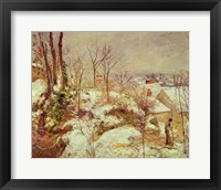 Framed Snow Scene