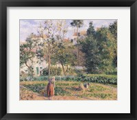 Framed Vegetable Garden at the Hermitage, Pontoise, 1879