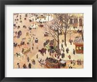 Framed Place du Theatre Francais, 1898