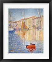 Framed Red Buoy, Saint Tropez, 1895