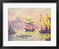 View of Constantinople, 1907 Framed Print
