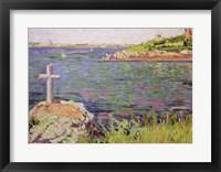 Framed Saint-Briac, the Sailor's Cross, 1885