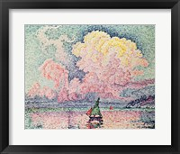 Framed Antibes, the Pink Cloud, 1916