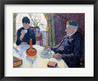Framed Study for The Dining Room, c.1886