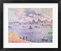 Framed Seine, Grenelle, 1899