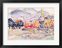 Framed Le Paillon, Nice, 1921