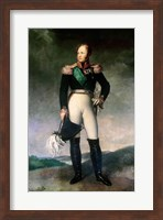 Framed Alexander I of Russia