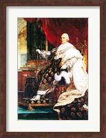 Framed Louis XVIII