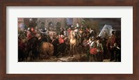 Framed Entry of Henri IV into Paris, 22nd March 1594
