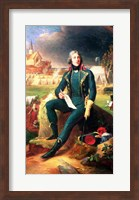 Framed Portrait of General Louis-Lazare Hoche