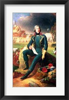 Framed Portrait of General Louis-Lazare Hoche