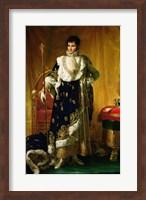 Framed Portrait of Jerome Bonaparte